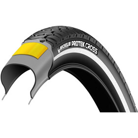 "Michelin Protek Cross Reifen 28"" Draht Reflex black"